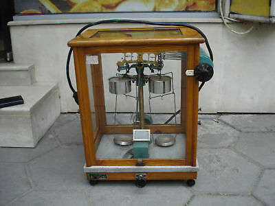 Antique-Analytical-Balance-Assayers-Apothecary-Scale