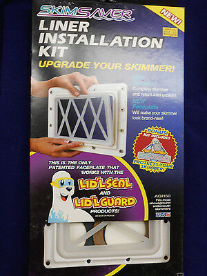 Skim Saver Liner Installation Kit for Wide mouth skimmers