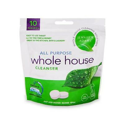 Jennifer Adams Whole House Cleaner 10 Tablet Refill Bag All Purpose Cleaner