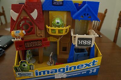 NEW Imaginext Disney's Monsters University Row Playset by Fisher-Price