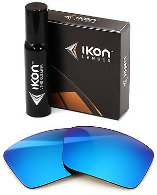 Polarized IKON Replacement Lenses For SPY Cyrus Sunglasses Ice Blue Mirror