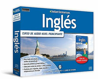 NEW 2015 ENGLISH INGLES Beginner Audio Course Language 8 CD +1 MP3+Workbook
