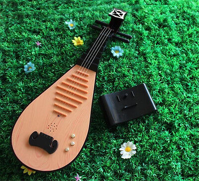 Hot Sale Pipa Instrument Chinese Lute Party Props Kid Music Toy Birthday Gift