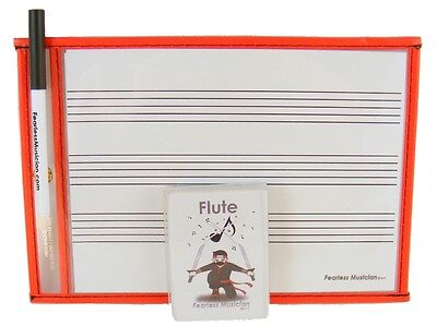 Fast Learning FreeShipp Premium Music Flashcards and Music Notation Flute
