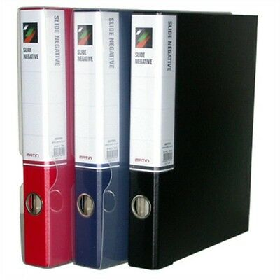 Matin M-9414 3 RING BINDER with Case Red