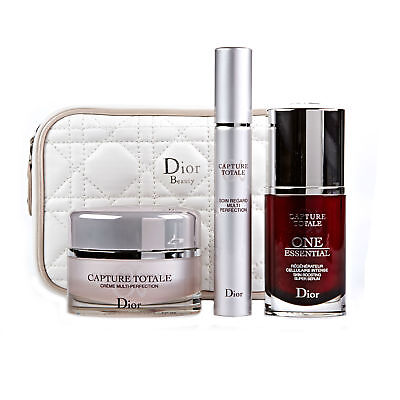 Dior Capture Totale One Essential Serum Multi Perfection Facial Set Damaged Box