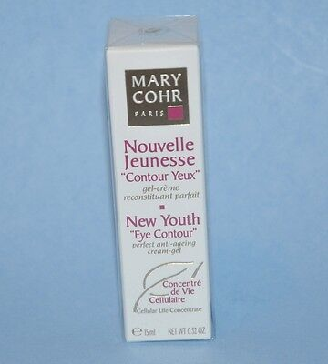 """Mary Cohr New Youth """" Eye Contour """" 15ml/0.52oz. - New in Box (Free shpping)"""