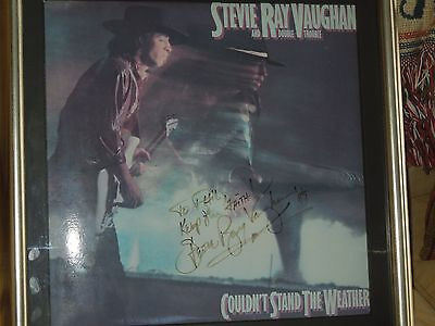 Vintage 1989 Genuine Stevie Ray Vaughan Signature Validated by Roger Epperson