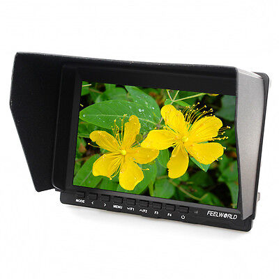 """Feelworld FW-74K 7"""" IPS Field Camera HD Monitor HDMI 4K Input for BMPCC,GH4,A7S"""