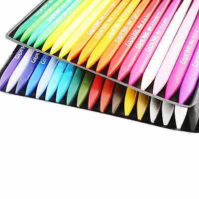 36 Assorted Coloured Wax Crayons Kids Crayons Non Toxic Crayons Children's DIY