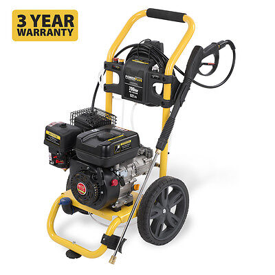 POWERPLUS 206 Bar 3000psi 180cc Petrol Driven Power Pressure Jet Washer