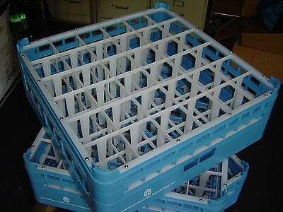 3 NEW  sysco commercial dish washer racks 36 compartment full size tall 4802070