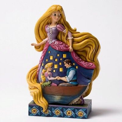 "DISNEY Skulptur - ""RAPUNZEL - Enlightened Love"" - Jim Shore Figur 4031485 NEU!!"