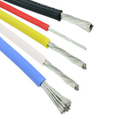 10/12/14/16/18/20/22/24AWG Silicone Wire Cable - All Colours and Sizes