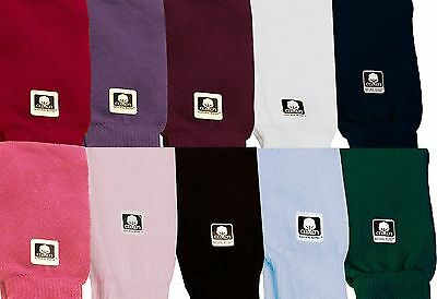 "Dance & Fashion All Cotton Leg Warmers 16"" 11 Colors NEW"