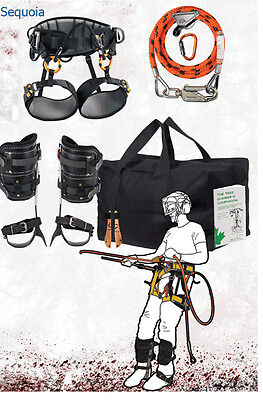 Tree Climbers Spur Deluxe Kit,Sequoia Saddle,Big Buck Pads,& More