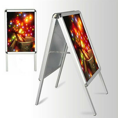 A1 A-Board Pavement Sign Poster Snap Frame Double Side Sign Display Stands
