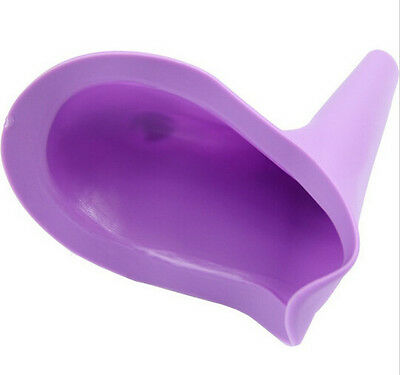 2xLady Elegence PEZ Travel Female Urinal Women Stand Up Pee Cup Urination Device