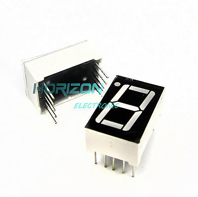 10PCS 0.56 inch 1 digit Red Led display 7 segment Common Anode best