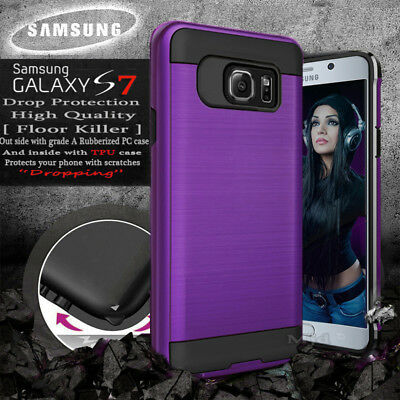 For Samsung Galaxy S7 7 S Protective Phone Slim Case Hard Armor Cover
