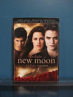 The Twilight Saga: New Moon (DVD, 2010, 2-Disc Set, Special Edition, Widescreen)