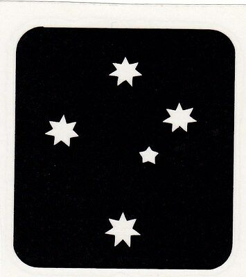 AB39 -  Airbrush stencil - Southern Cross - FREE POSTAGE