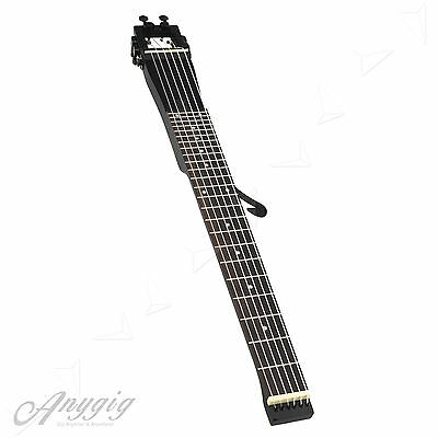 Anygig AGN Nylon String Full Scale Classical Travel Guitar Backpacker Black