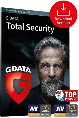 G Data TOTAL Security 2018 * 1 PC * 1 Jahr * Lizenz * Vollversion