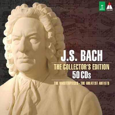 J.S. BACH - THE COLLECTOR`S EDITON 50 CD BOX SET Korea Edition SEALED