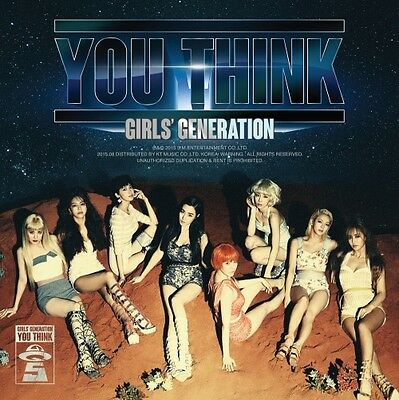 GIRLS' GENERATION SNSD YOU THINK 5th Album : CD w/booklet+Poster+GiftPhoto, New