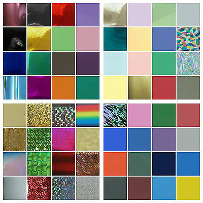 Bulk buy hot foil bargain - rub on foils - 60 choices TODO Craft Dragon Go Press