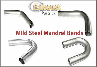 Aluminised Mild Steel Mandrel Bends 45mm - 1 3/4 inch with Qty Discount Offer