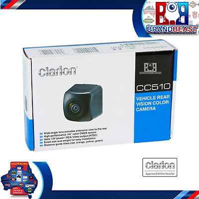 Clarion Cc510 High Resolution Reverse Camera Vx603au  Vx404au Nx702a Vz402a