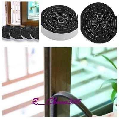 4Roll Self Adhesive Draught Excluder Brush Pile Seal Away Noise For Window Doors