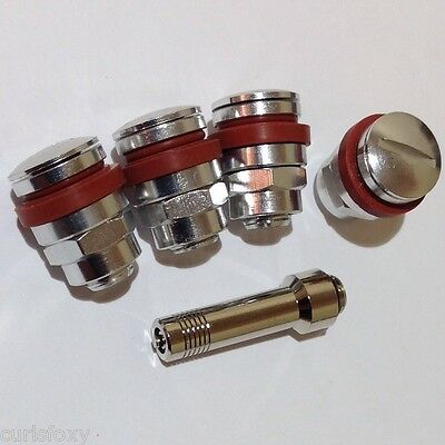 Flush Fit Bolt-In Tyre Valves - Racing / Karting Hidden Valves