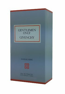 Gentlemen Only Casual Chic Givenchy EDT Eau De Toilette for Men New&Sealed 100ml