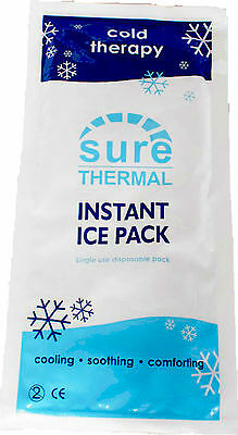 Instant Ice Pack Cold Compress Freeze First Aid, Sports Injury Pain Relief