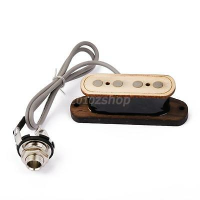 Single Coil Size 4 Corda Bass Cigar Box Guitar Pickup