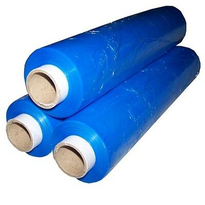 CHEAPEST 1x STRONG Blue PALLET STRETCH WRAP 400mm 250m 300 shrink film quality