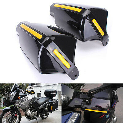 2x 7/8'' Handlebar Motorcycle Dirt Bike Brush Bar Hand Guard Handguard Protector