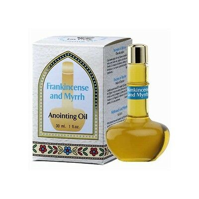 Frankincense and Myrrh Anointing Oil with Spices of Israel - Made in Holy Land