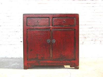 Toilette Pour Chats dans Commode colonial Look antique rouge-brun used