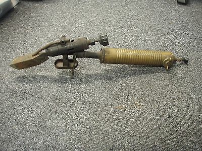 Extremely Rare  Vintage Antique Blow Torch Soldering Iron Tool, Portable