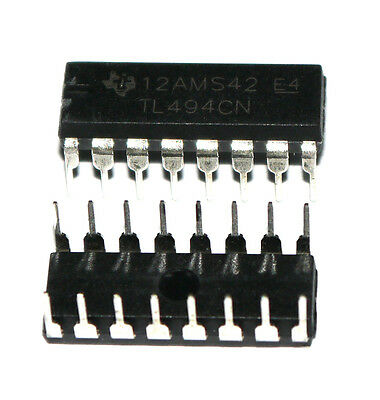 10pcs TL494CN TL494C TL494 PWM Power Supply Controllers DIP-16 IC new sale kf