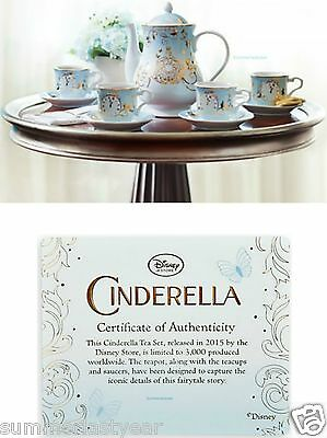 Cinderella - Live Action Film ~Disney Store~ Limited Edition Fine China Tea Set