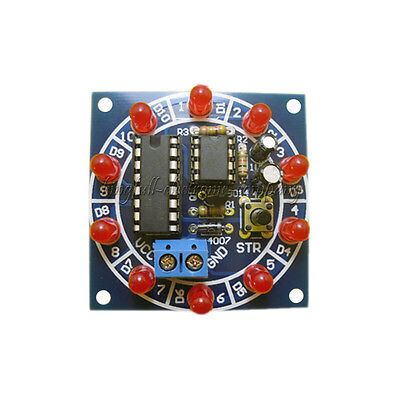 1Pcs Electronic Lucky Rotary Suite DIY Kits Production Parts And Components New