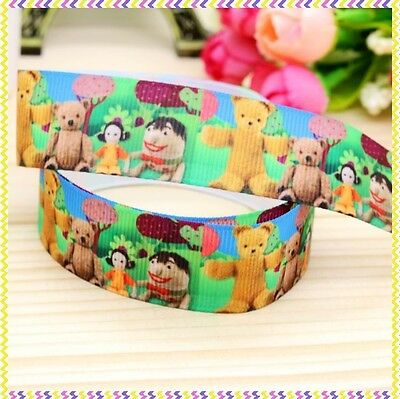 Play School 7/8 Inch Grossgrain Ribbon - One Metre - Craft or Cake