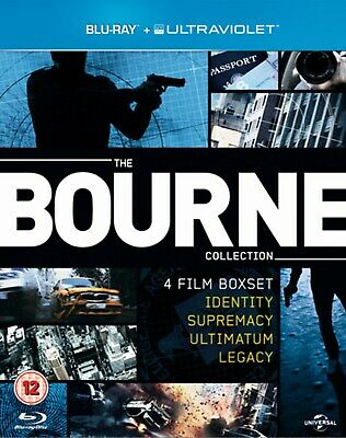 The Bourne Collection (Box Set) [Blu-ray]