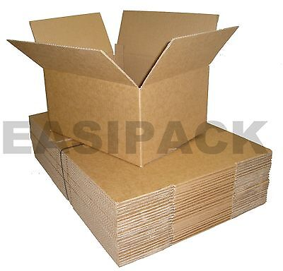 Single Wall - Quality Postal Mailing Cardboard Boxes *all Sizes*