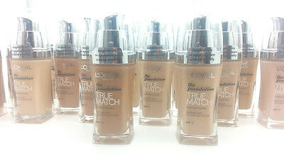 L'Oreal True Match Super Blendable Foundation SPF17 30ml- Available in 18 Shades